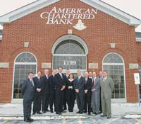 American Chartered Bank's Team